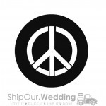 steel gobo peace piece