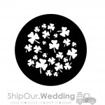 steel gobo breakup shamrock