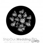 steel gobo butterfly group
