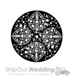 steel gobo persian lace