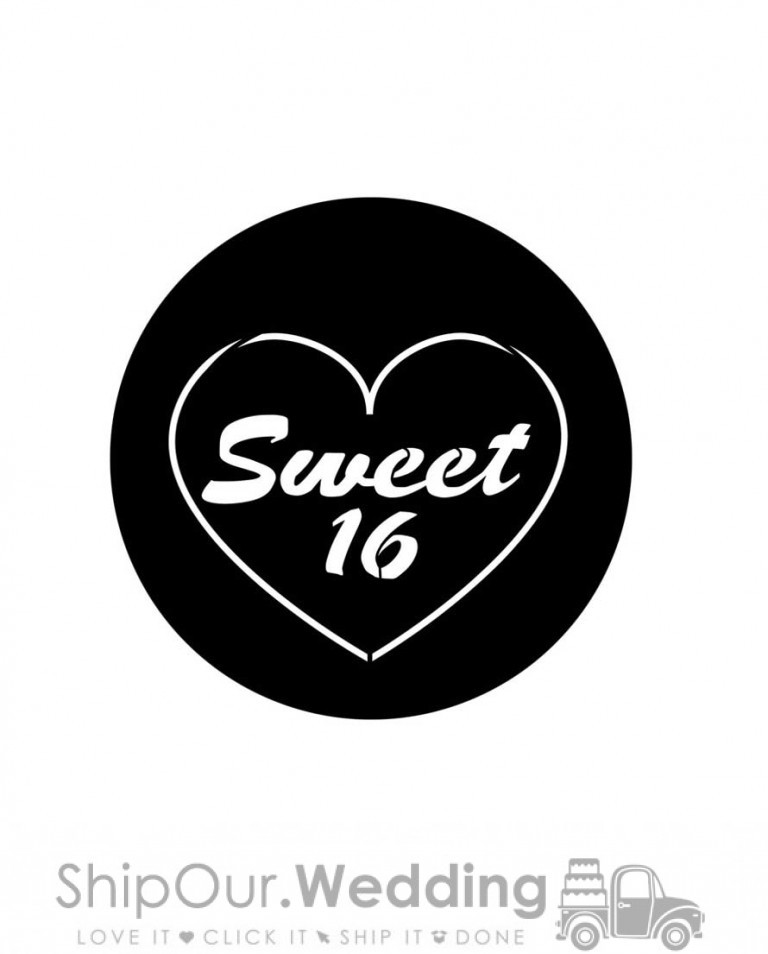 steel gobo sweet 16