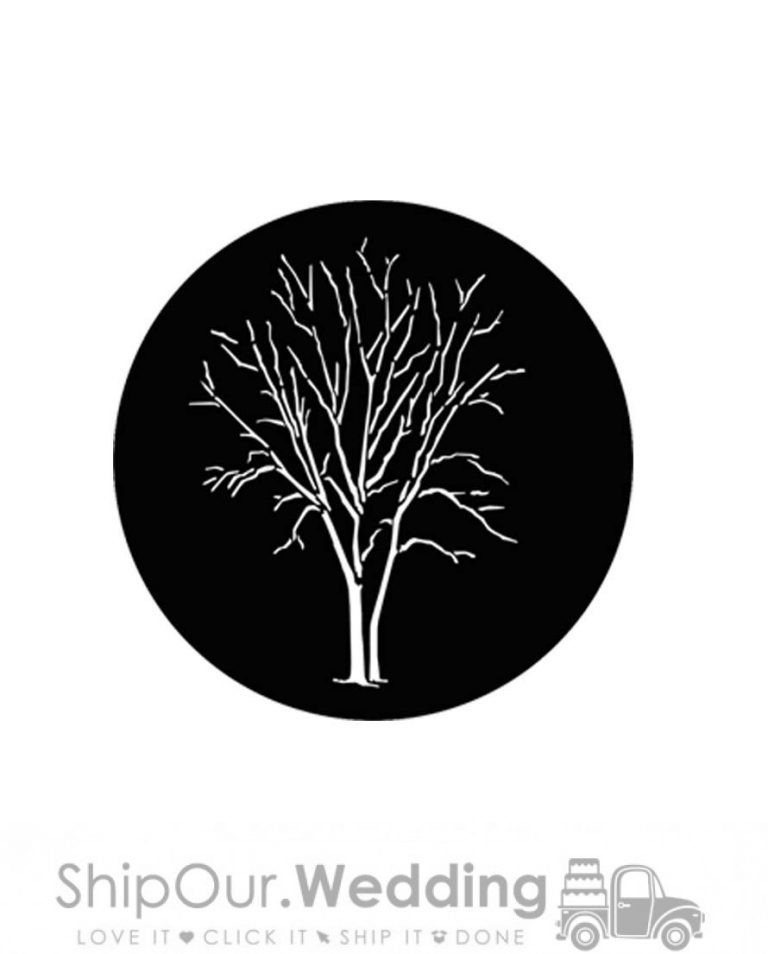 steel gobo winter tree a